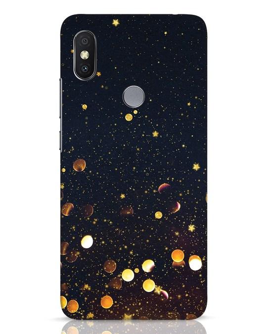 Shop Sequins Xiaomi Redmi Y2 Mobile Cover-Front
