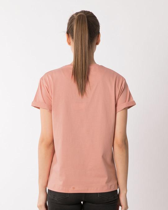 Shop Serial Chiller Girl Boyfriend T-Shirt-Back