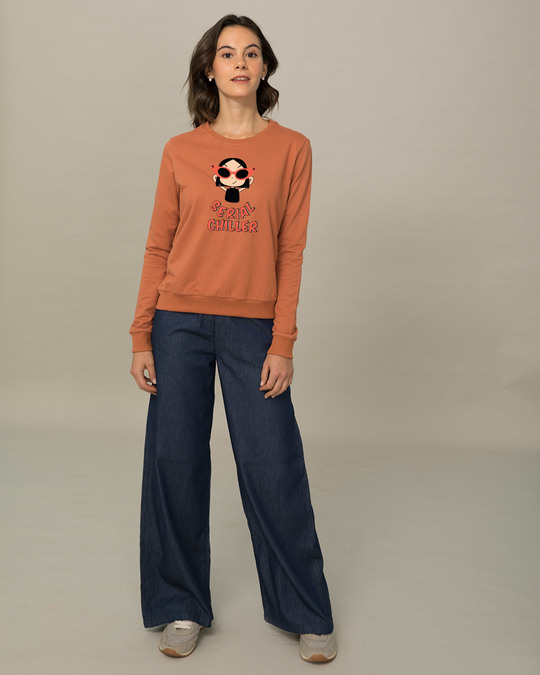 Shop Serial Chiller Girl  Sweatshirt-Full
