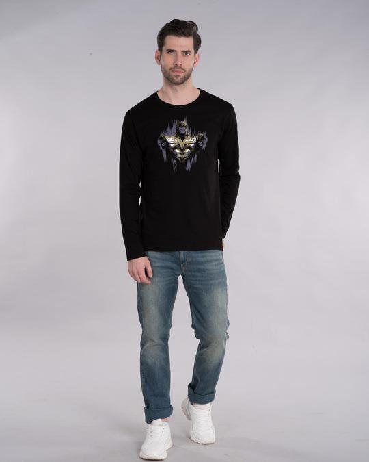 Shop Serious Thanos Full Sleeve T-Shirt (AVEGL)-Design