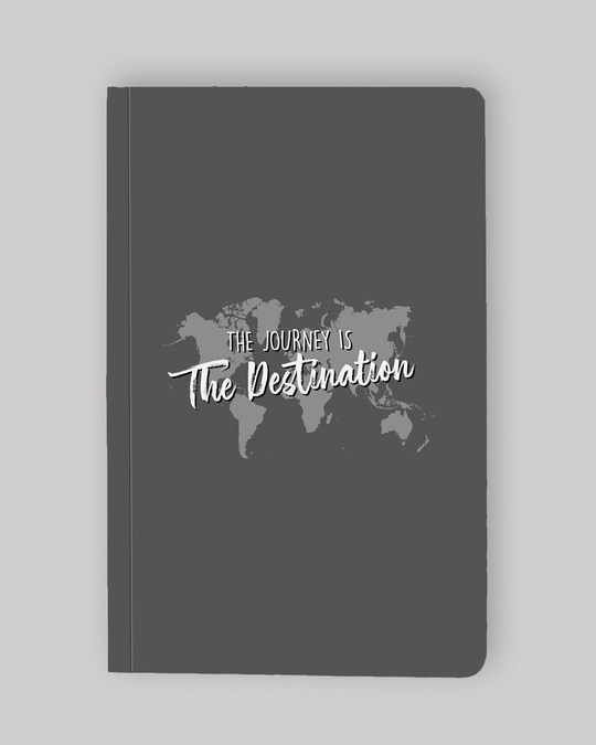 Shop Set of 2: Passport Stamps & The destination Map Notebooks-Design