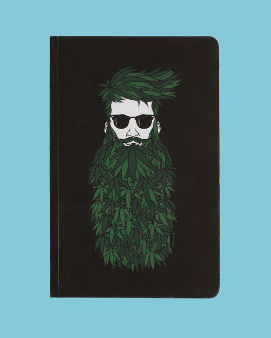 Shop Set of 2: Talli Boy & High Beard A5 Notebooks-Back