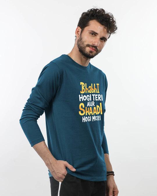 Shop Shadi Hogi Meri Full Sleeve T-Shirt-Back
