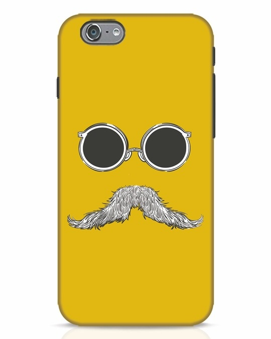 Shop Shady Moustache iPhone 6 Mobile Cover-Front