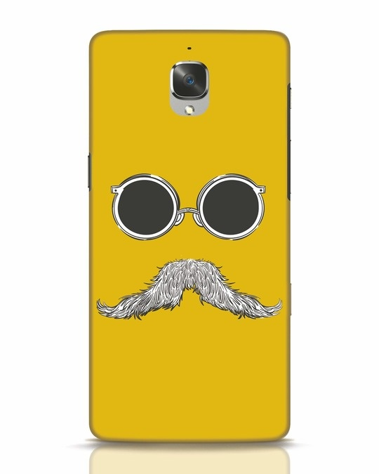 Shop Shady Moustache OnePlus 3T Mobile Cover-Front