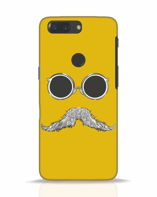 Shop Shady Moustache OnePlus 5T Mobile Cover-Front