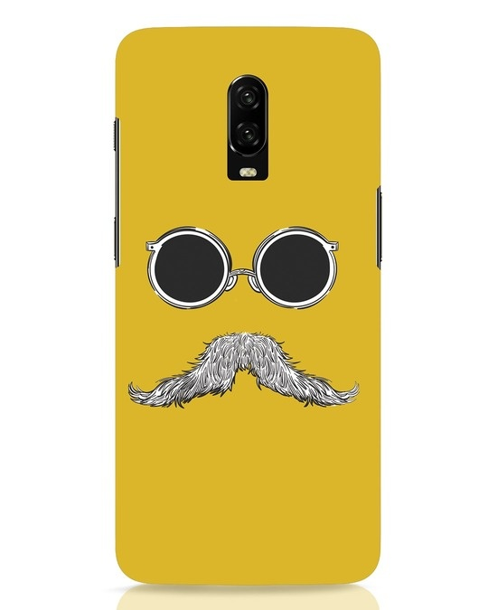 Shop Shady Moustache OnePlus 6T Mobile Cover-Front