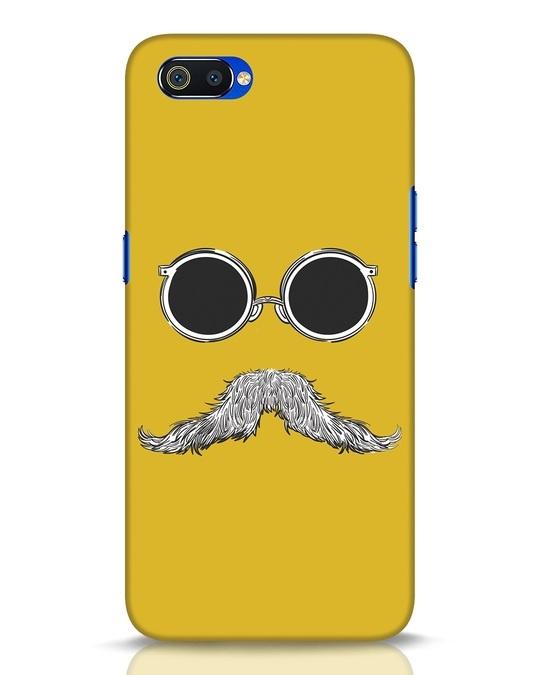 Shop Shady Moustache Realme C2 Mobile Cover-Front