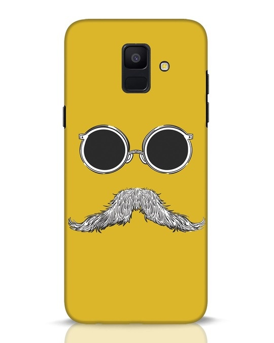 Shop Shady Moustache Samsung Galaxy A6 2018 Mobile Cover-Front