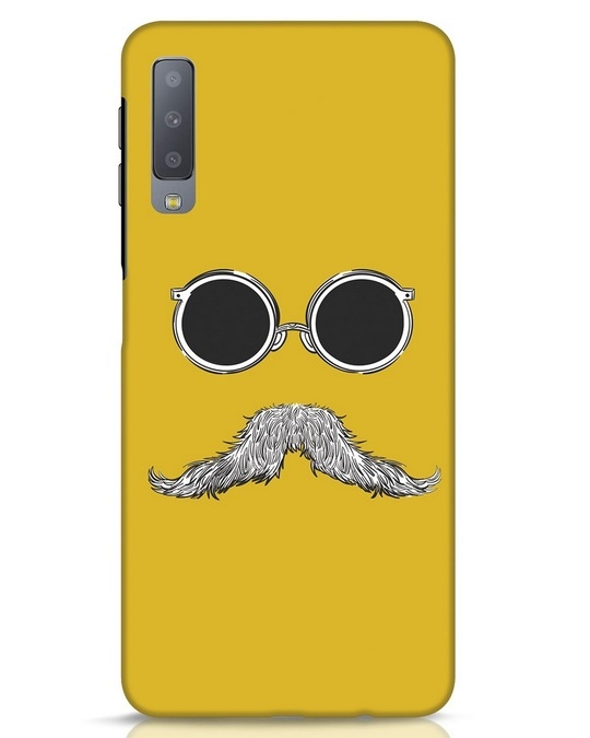 Shop Shady Moustache Samsung Galaxy A7 Mobile Cover-Front