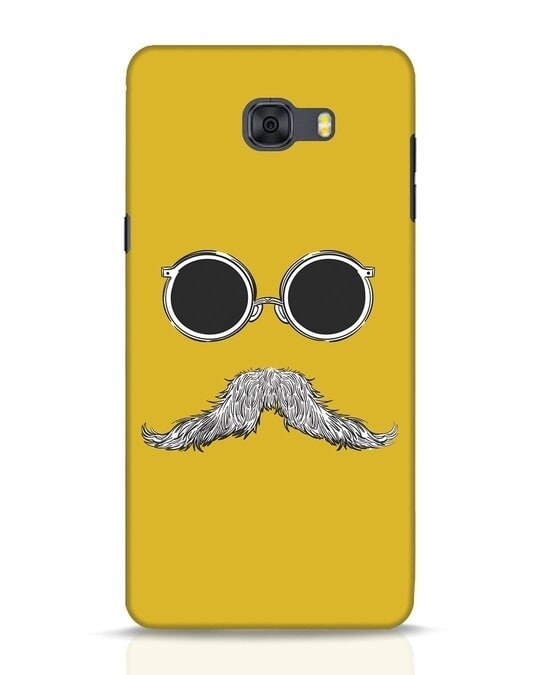 Shop Shady Moustache Samsung Galaxy C9 Pro Mobile Cover-Front