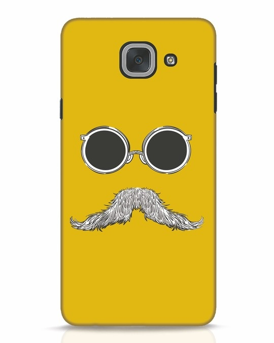 Shop Shady Moustache Samsung Galaxy J7 Max Mobile Cover-Front
