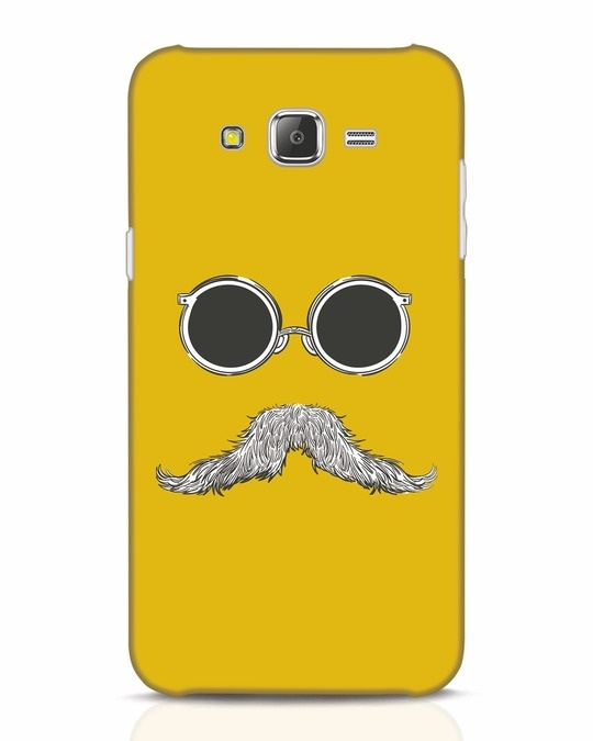 Shop Shady Moustache Samsung Galaxy J7 Mobile Cover-Front
