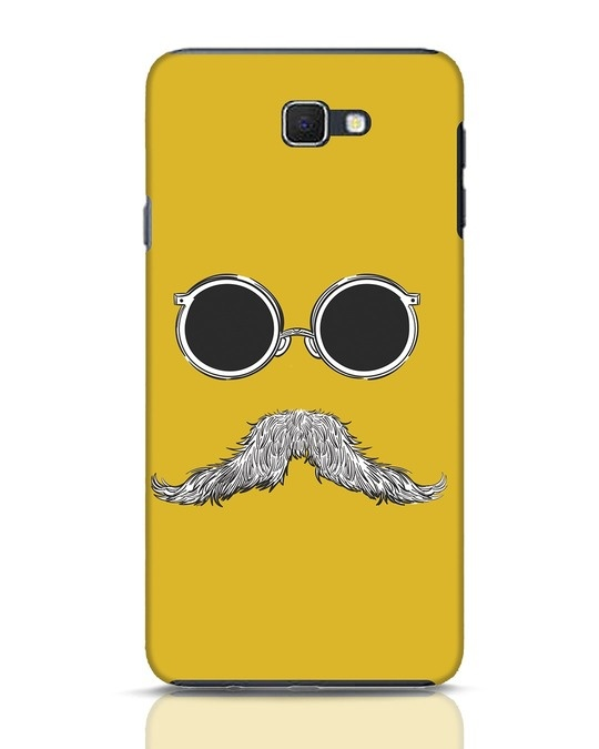 Shop Shady Moustache Samsung Galaxy J7 Prime Mobile Cover-Front