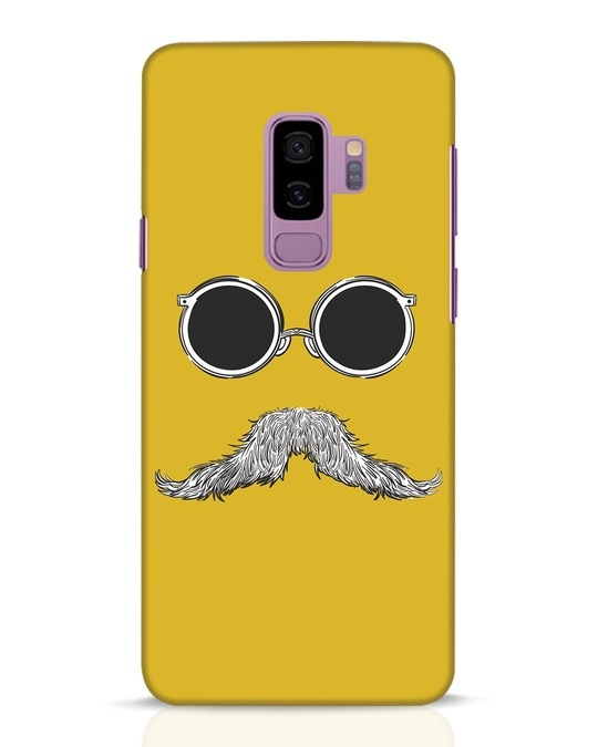 Shop Shady Moustache Samsung Galaxy S9 Plus Mobile Cover-Front