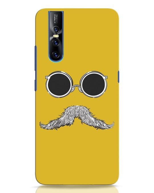 Shop Shady Moustache Vivo V15 Pro Mobile Cover-Front