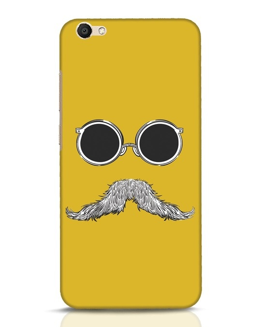 Shop Shady Moustache Vivo V5 Mobile Cover-Front