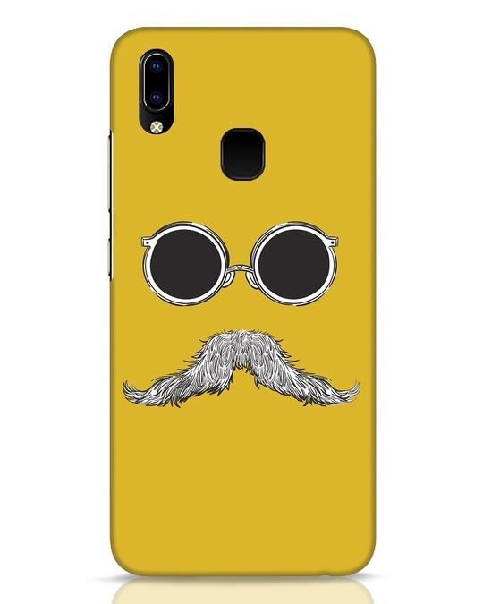 Shop Shady Moustache Vivo Y93 Mobile Cover-Front