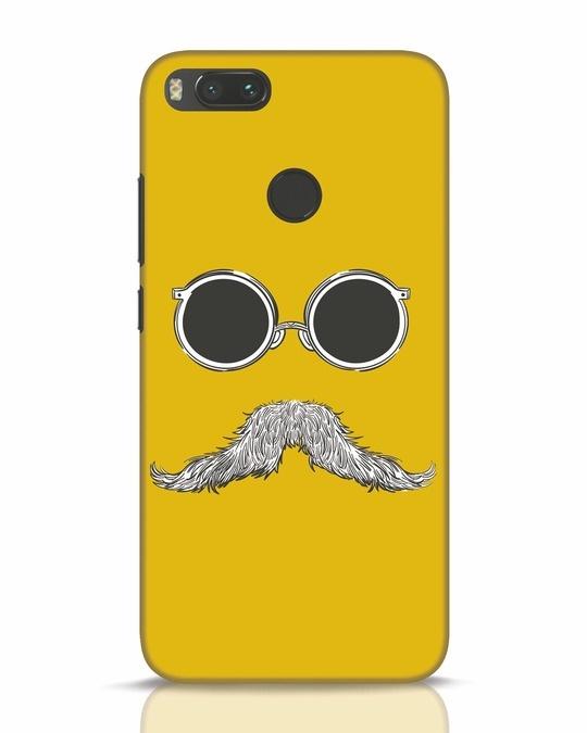 Shop Shady Moustache Xiaomi Mi A1 Mobile Cover-Front
