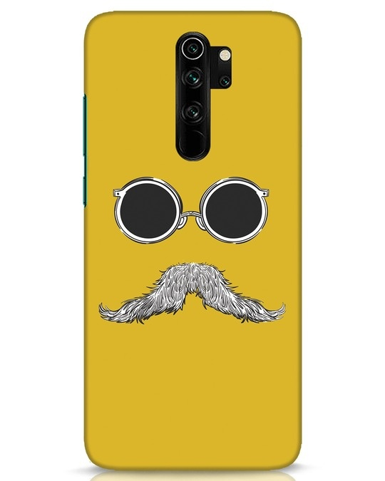 Shop Shady Moustache Xiaomi Redmi Note 8 Pro Mobile Cover-Front