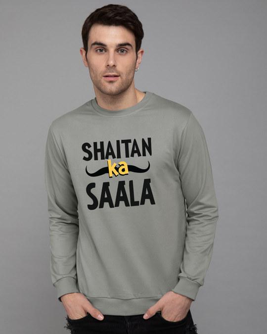 Shop Shaitan Ka Saala Fleece Sweater-Front