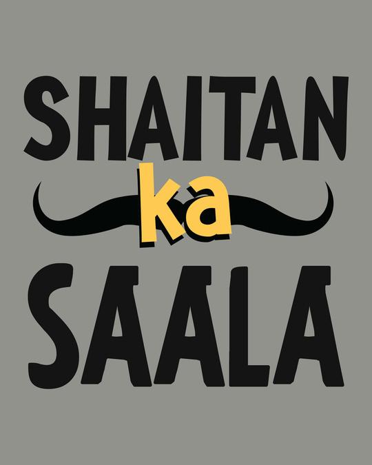 Shop Shaitan Ka Saala Fleece Sweater-Full