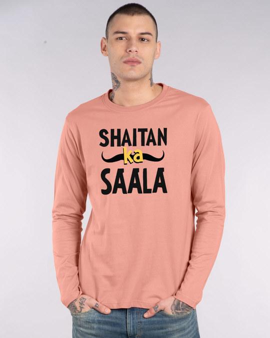 Shop Shaitan Ka Saala Full Sleeve T-Shirt-Front