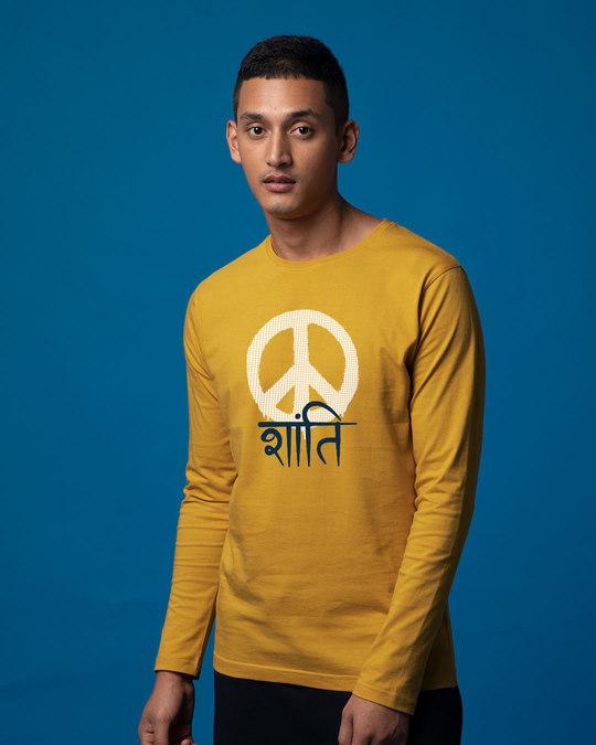 Shop Shanti Full Sleeve T-Shirt-Back