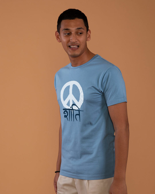 Shop Shanti Half Sleeve T-Shirt-Full