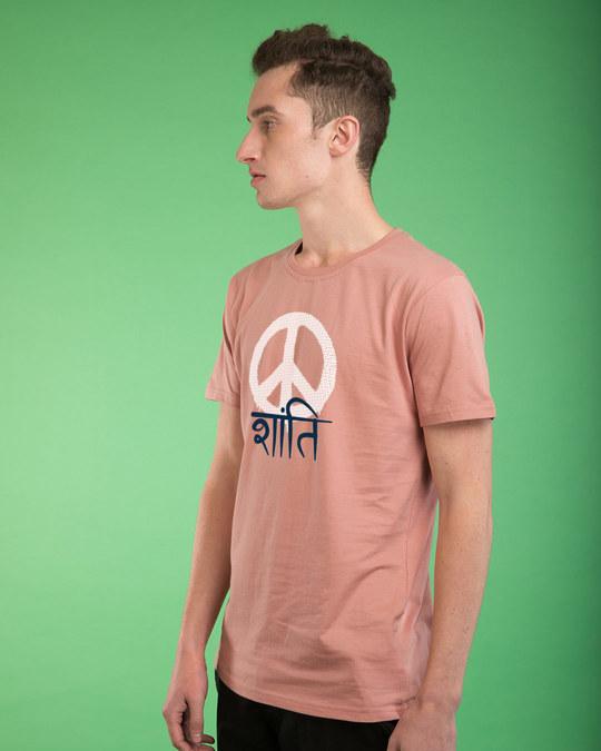 Shop Shanti Half Sleeve T-Shirt-Design