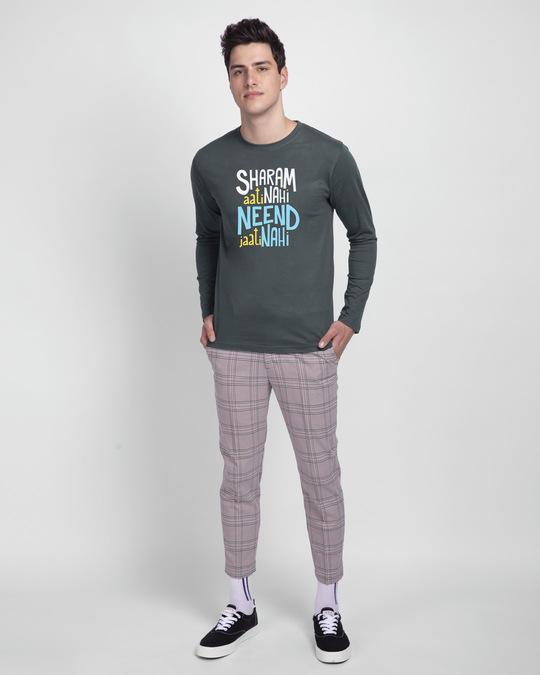 Shop Sharam Aati Nahi Full Sleeve T-Shirt-Design