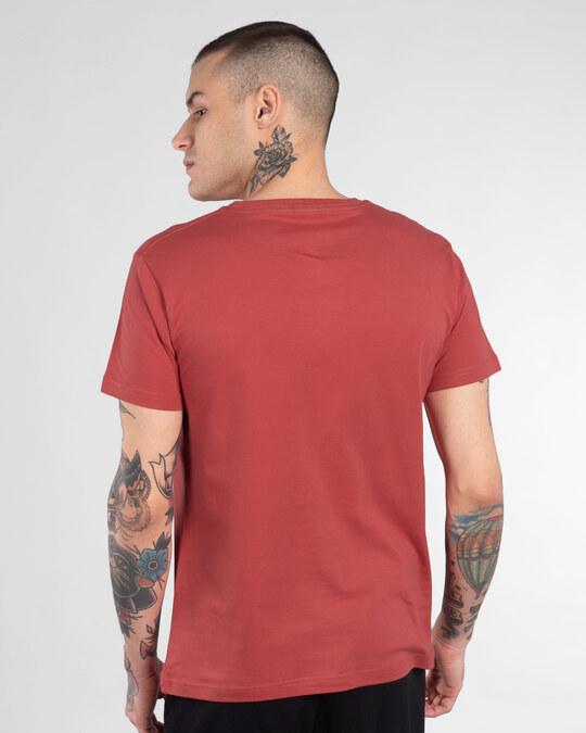 Shop Sharam Aati Nahi Half Sleeve T-Shirt-Back
