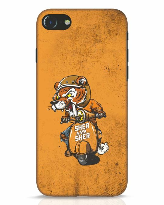 Shop Sher Aaya Sher iPhone 8 Mobile Cover-Front