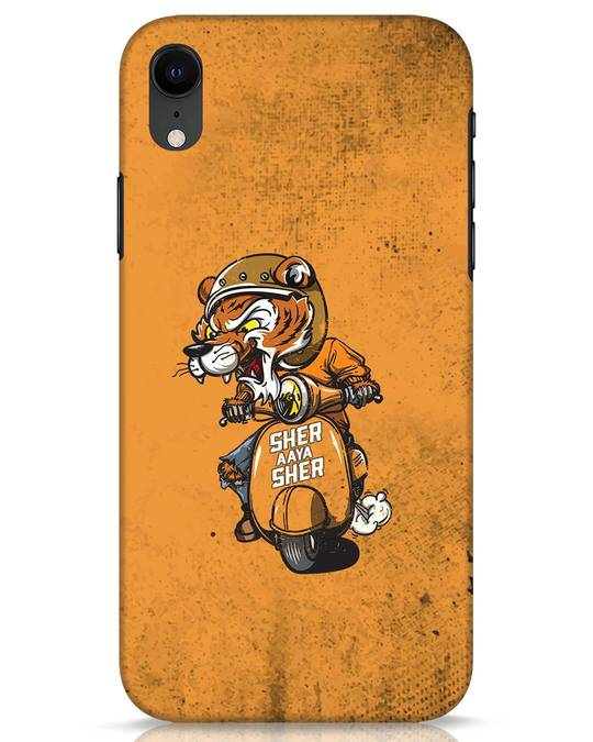 Shop Sher Aaya Sher iPhone XR Mobile Cover-Front
