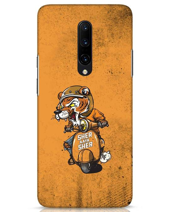 Shop Sher Aaya Sher OnePlus 7 Pro Mobile Cover-Front