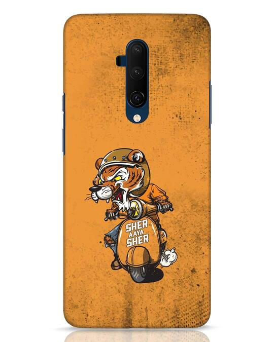 Shop Sher Aaya Sher OnePlus 7T Pro Mobile Cover-Front