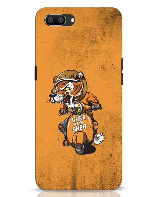Shop Sher Aaya Sher Realme C1 Mobile Cover-Front