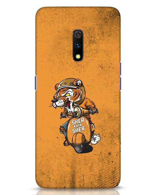 Shop Sher Aaya Sher Realme X Mobile Cover-Front