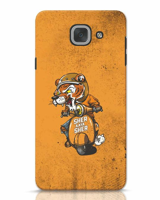 Shop Sher Aaya Sher Samsung Galaxy J7 Max Mobile Cover-Front