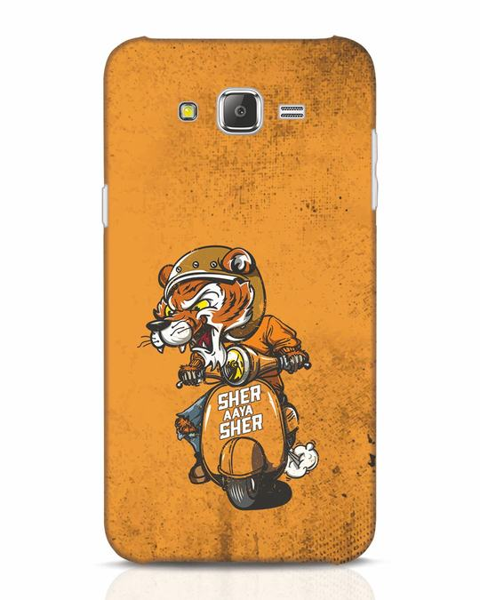 Shop Sher Aaya Sher Samsung Galaxy J7 Mobile Cover-Front