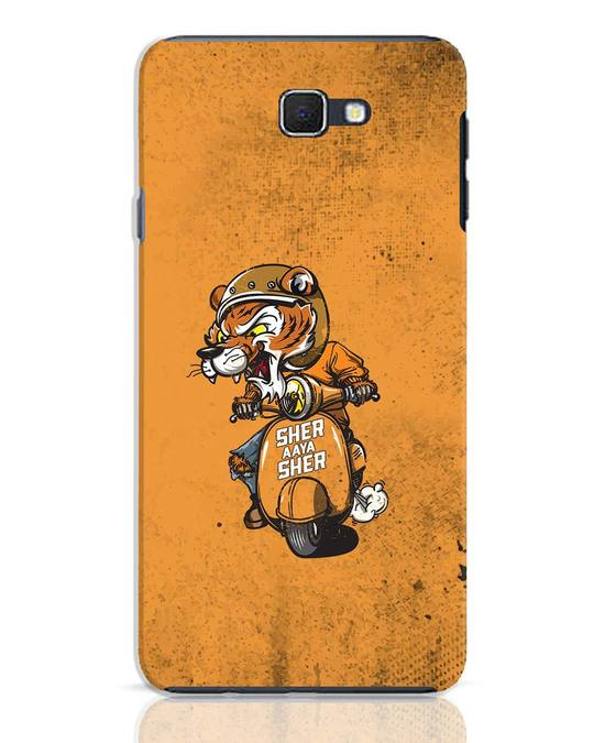 Shop Sher Aaya Sher Samsung Galaxy J7 Prime Mobile Cover-Front