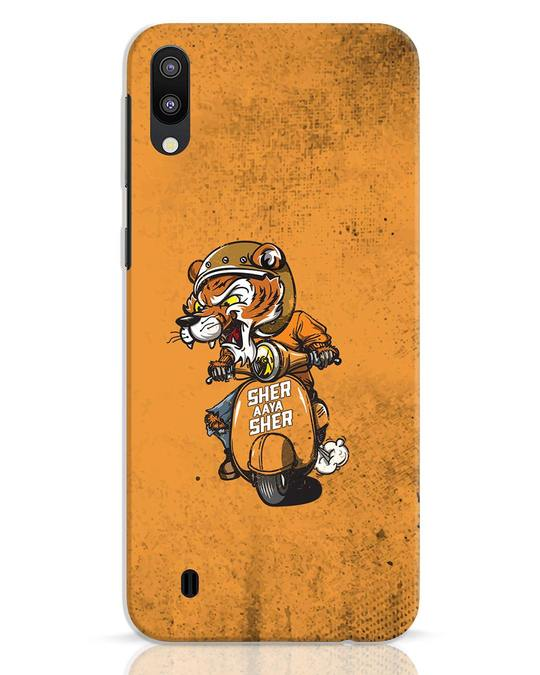 Shop Sher Aaya Sher Samsung Galaxy M10 Mobile Cover-Front