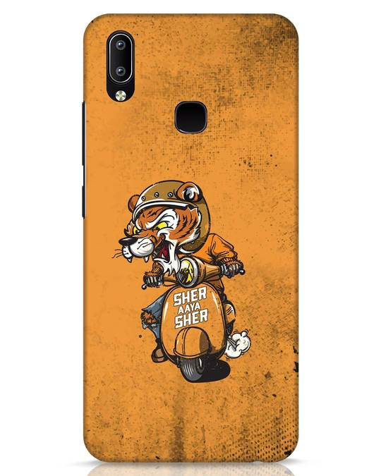 Shop Sher Aaya Sher Vivo Y91 Mobile Cover-Front