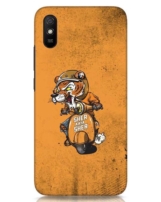 Shop Sher Aaya Sher Xiaomi Redmi 9A Mobile Cover-Front