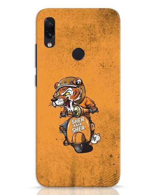 Shop Sher Aaya Sher Xiaomi Redmi Note 7 Mobile Cover-Front