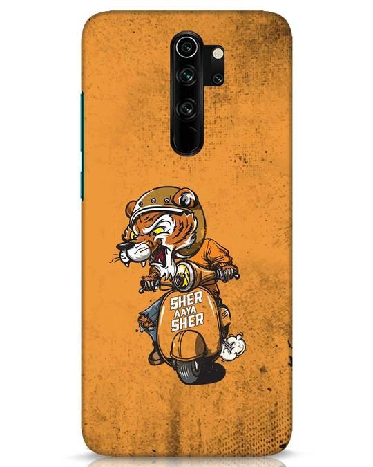 Shop Sher Aaya Sher Xiaomi Redmi Note 8 Pro Mobile Cover-Front