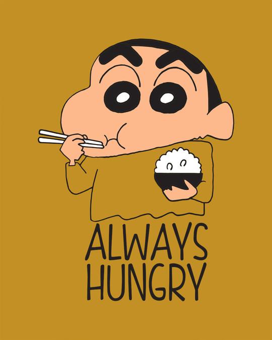 Shop Shinchan Always Hungry  Sweatshirt (SCL)-Full