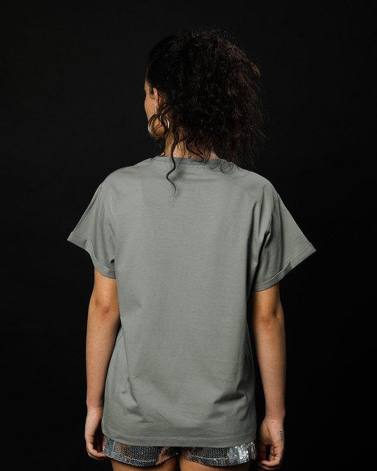 Shop Shinchan Whatever Boyfriend T-Shirt (SCL)-Back