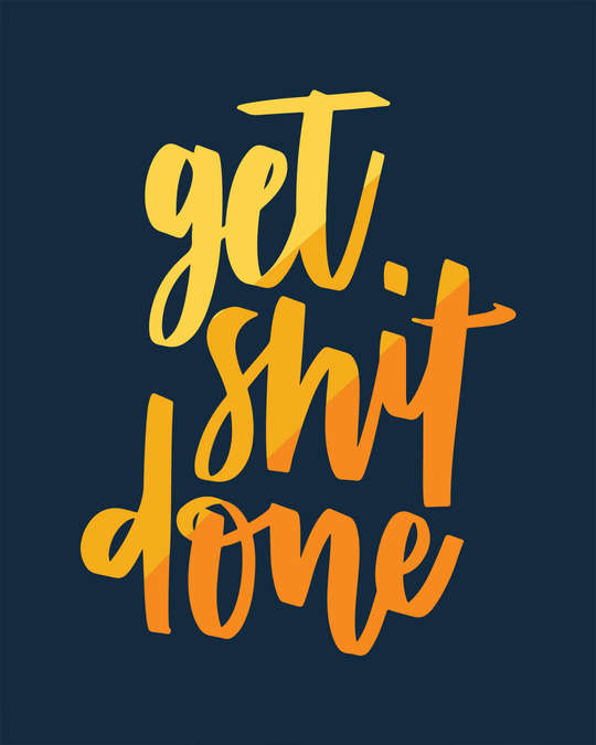 Shop Shit Done Typo Boyfriend T-Shirt