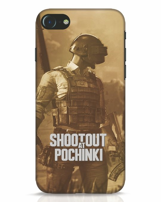 Shop Shoot Out At Pochinki iPhone 7 Mobile Cover-Front